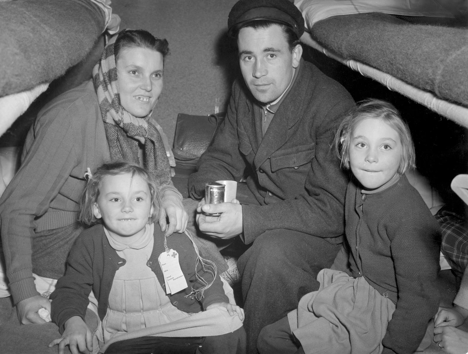 Hongaarse vluchtelingen in Utrecht
